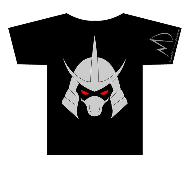 TMNT Teenage Mutant Ninja Turtles Shredder METALLIC T-shirt