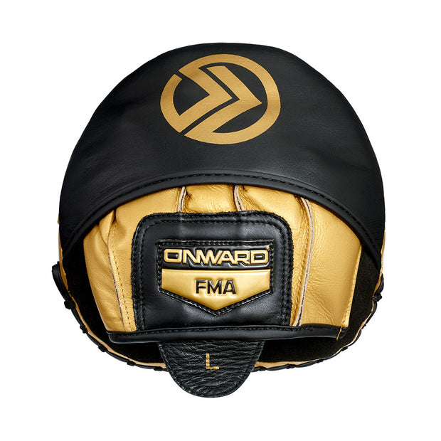Colt Bitmitt Shield-Focus Mitts-BLACK/GOLD-STD-2AG005-095-STD-Onward