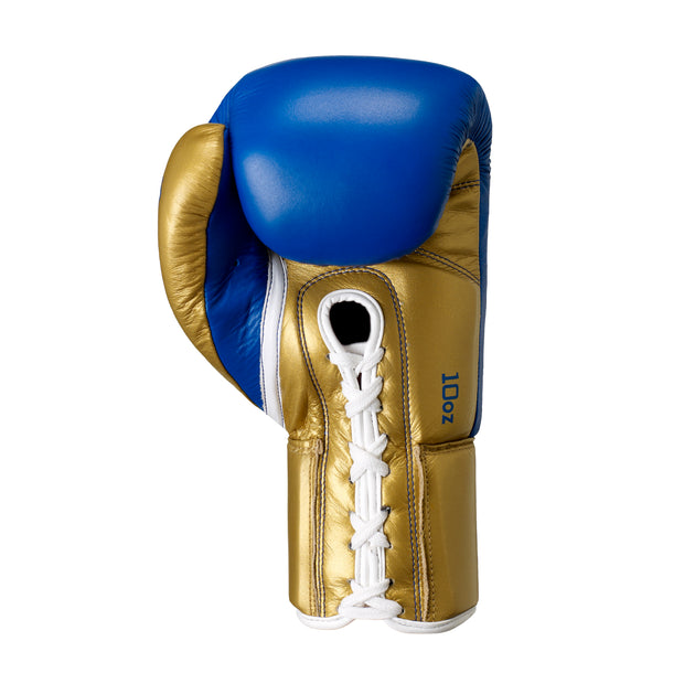 Vero Lace Up Boxing Glove-Boxing Gloves-Onward-BLUE/GOLD-8OZ-Onward