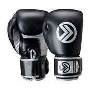 Sabre Boxing Glove-Boxing Gloves-Onward-BLACK/SILVER-16OZ-Onward