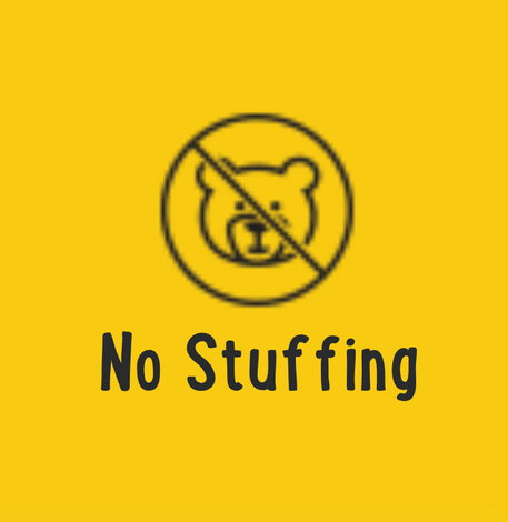 No Stuffing Toys
