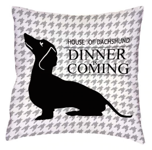 Arthur - Dachshund Cushion Cover