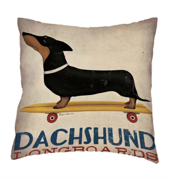 George - Dachshund Cushion Cover