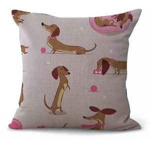 Mia - Dachshund Cushion Cover