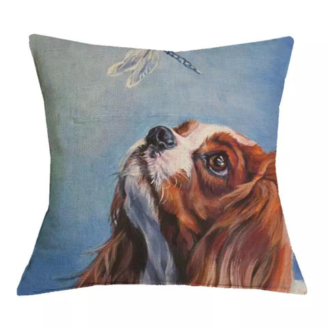 Sir Winston - Cavalier King Charles Cushion Cover