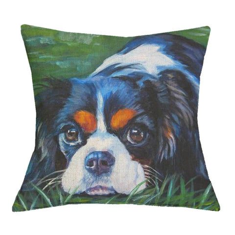 Sir Charlie - Cavalier King Charles Cushion Cover