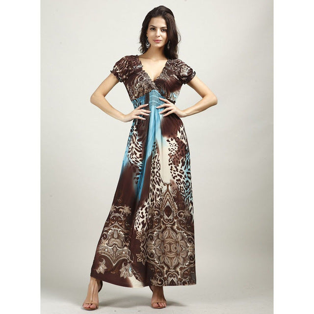 Bohemian Dress Maternity Clothing - Bump Closet Maternity Clothes