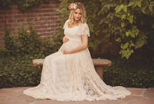 Bump Closet Maternity Gown Photography White Lace classic - Bump Closet Maternity Clothes