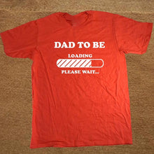 Dad to Be T-SHIRT Short Sleeve Cotton T Shirt - Bump Closet Maternity Clothes