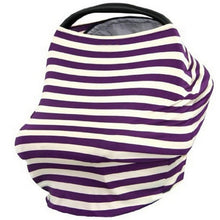 Bump Closet Nursing Covers& Baby Car seat Cover Multi Stripe - Bump Closet Maternity Clothes