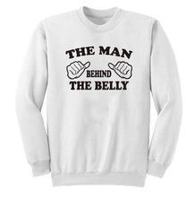 The Man Behind The Belly Hoodie - Bump Closet Maternity Clothes