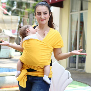 Bump Closet Breathable Baby Carrier Wrap Solid - Bump Closet Maternity Clothes