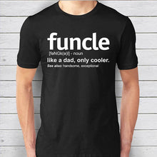 Mens Funcle Definition T-shirt Funny - Bump Closet Maternity Clothes