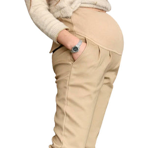 Bump Closet New cotton pants pants business casual khakis - Bump Closet Maternity Clothes