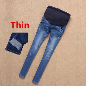 Bump Closet light and dark cute Maternity Jeans - Bump Closet Maternity Clothes