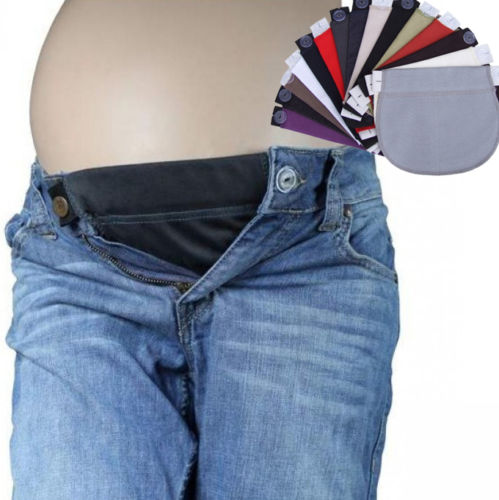 Bump Closet 1Pcs Maternity Pregnancy Waistband Belt ADJUSTABLE Elastic Waist Extender Pants - Bump Closet Maternity Clothes