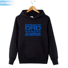Men's Winter GAMER DAD Funny Men's Sweatshirts Long Sleeve Hoodie - Bump Closet Maternity Clothes