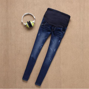 Bump Closet Dark wash maternity Jeans For Pregnant Women - Bump Closet Maternity Clothes