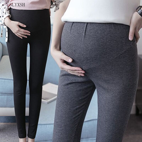 Bump Closet New Spring Cotton Maternity Leggings Maternity - Bump Closet Maternity Clothes
