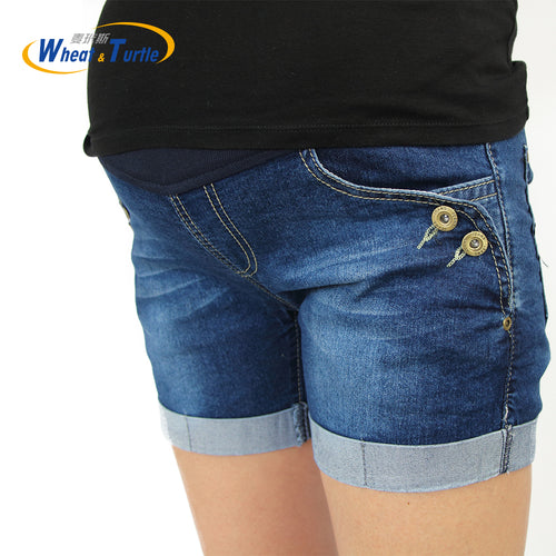 Bump Closet Maternity Fashion Short Jeans Denim - Bump Closet Maternity Clothes