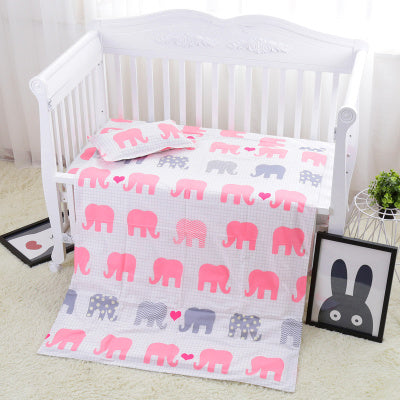 Bump Closet 3PCS Crib Baby Bedding Set Duvet Cover/Sheet/Pillow Cover - Bump Closet Maternity Clothes