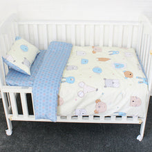 Bump Closet 3Pcs Cotton Crib Bed Linen Kit - Bump Closet Maternity Clothes