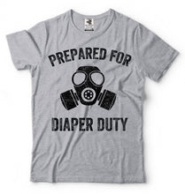 T-shirt Father Daddy Diaper Duty - Bump Closet Maternity Clothes
