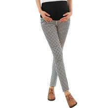 Bump Closet High Waist Plaid Pants - Bump Closet Maternity Clothes