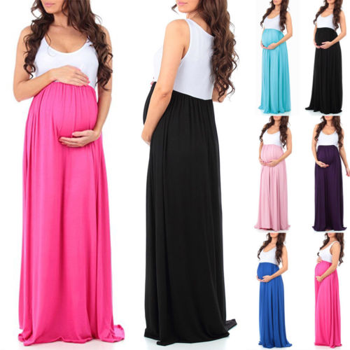 Hot maternity Chiffon dress Bump Closet - Bump Closet Maternity Clothes