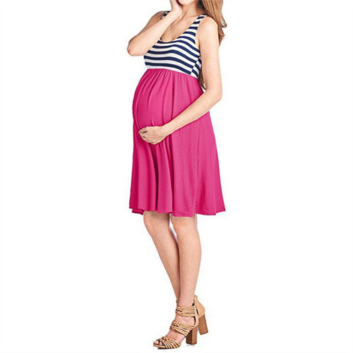 Bump Closet Sleeveless Dress - Bump Closet Maternity Clothes