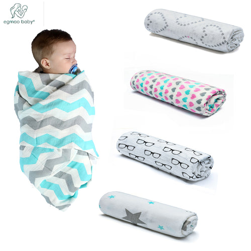 Bump Closet Muslin Blanket Organic Cotton Baby Swaddles - Bump Closet Maternity Clothes