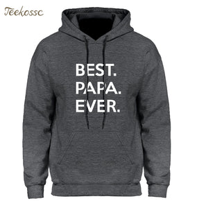 Best Papa Ever Hoodies Mens - Bump Closet Maternity Clothes