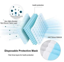 3 Ply Disposable Protection Masks
