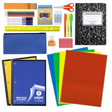 45 Piece School Supply Kit ($12.50/Kit-12/Case)