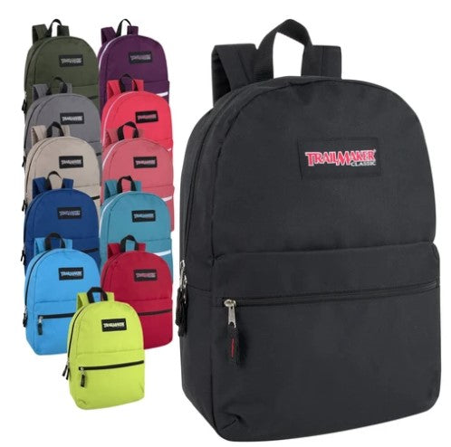 Classic 17 Inch Backpack ($6.00/Ea-24/Case)