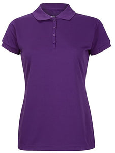 Girls Short Sleeve Polo:
