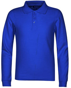 Adults Long Sleeve Polo:
