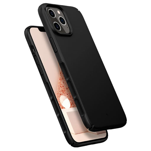 Estuche Caseology Dual Grip Apple iPhone 12 Pro Max Negro ACS01637 Lanch Accesorios Originales