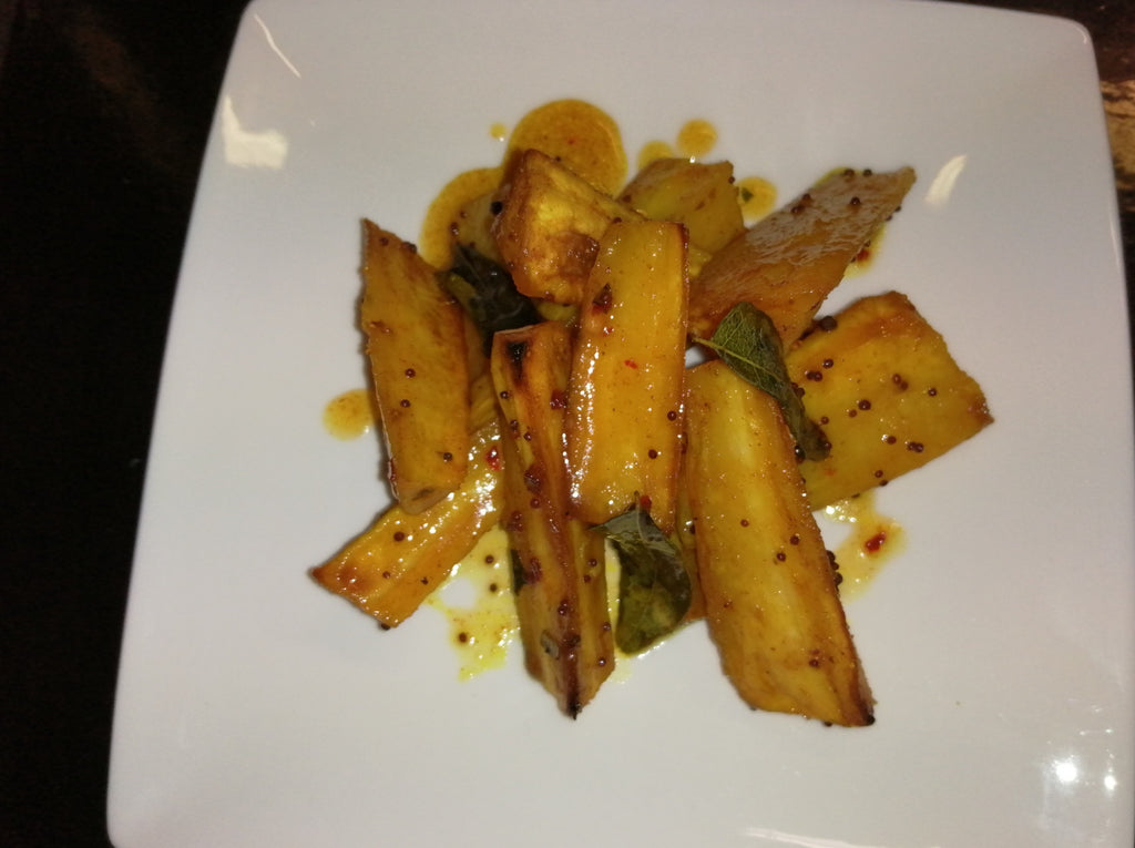 Spiced Honey Parsnips GF Vegetarian FROZEN