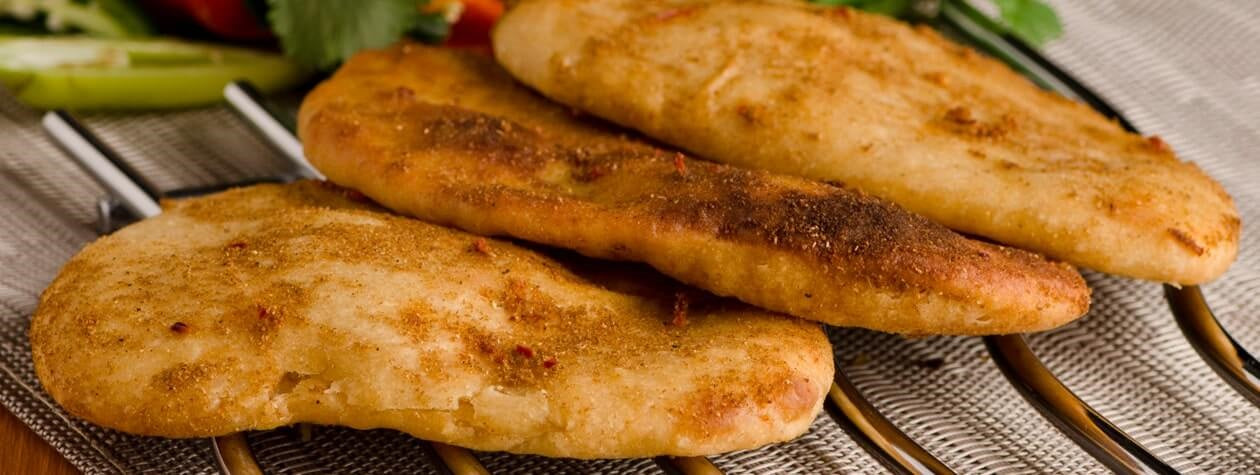 Spicy Naan Bread - Pack of 2