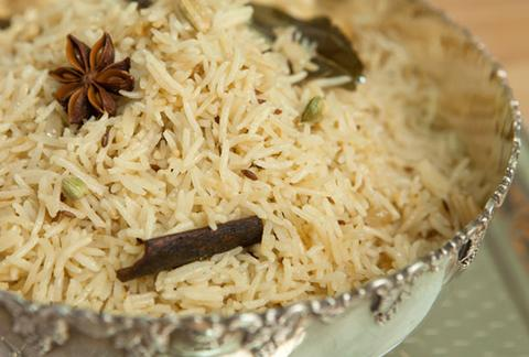 Shahi Pulao - Large  (Contains nuts)  VEGAN  GF
