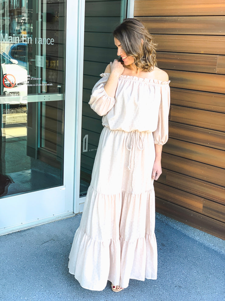 Caught Daydreaming Maxi Dress