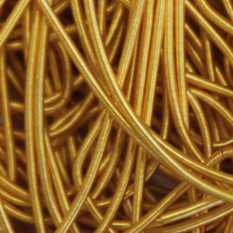 Thick Bright Gold Rough Purl (5g)