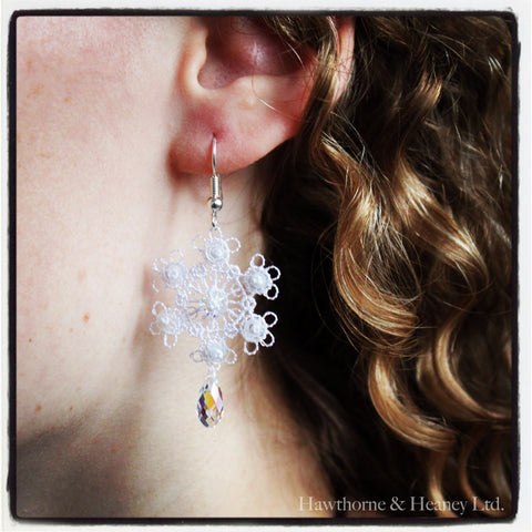 Snowflake Lace Earring Kit