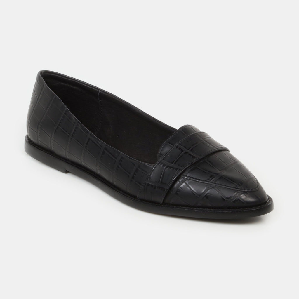 Slippers - Leonor - gavial negro