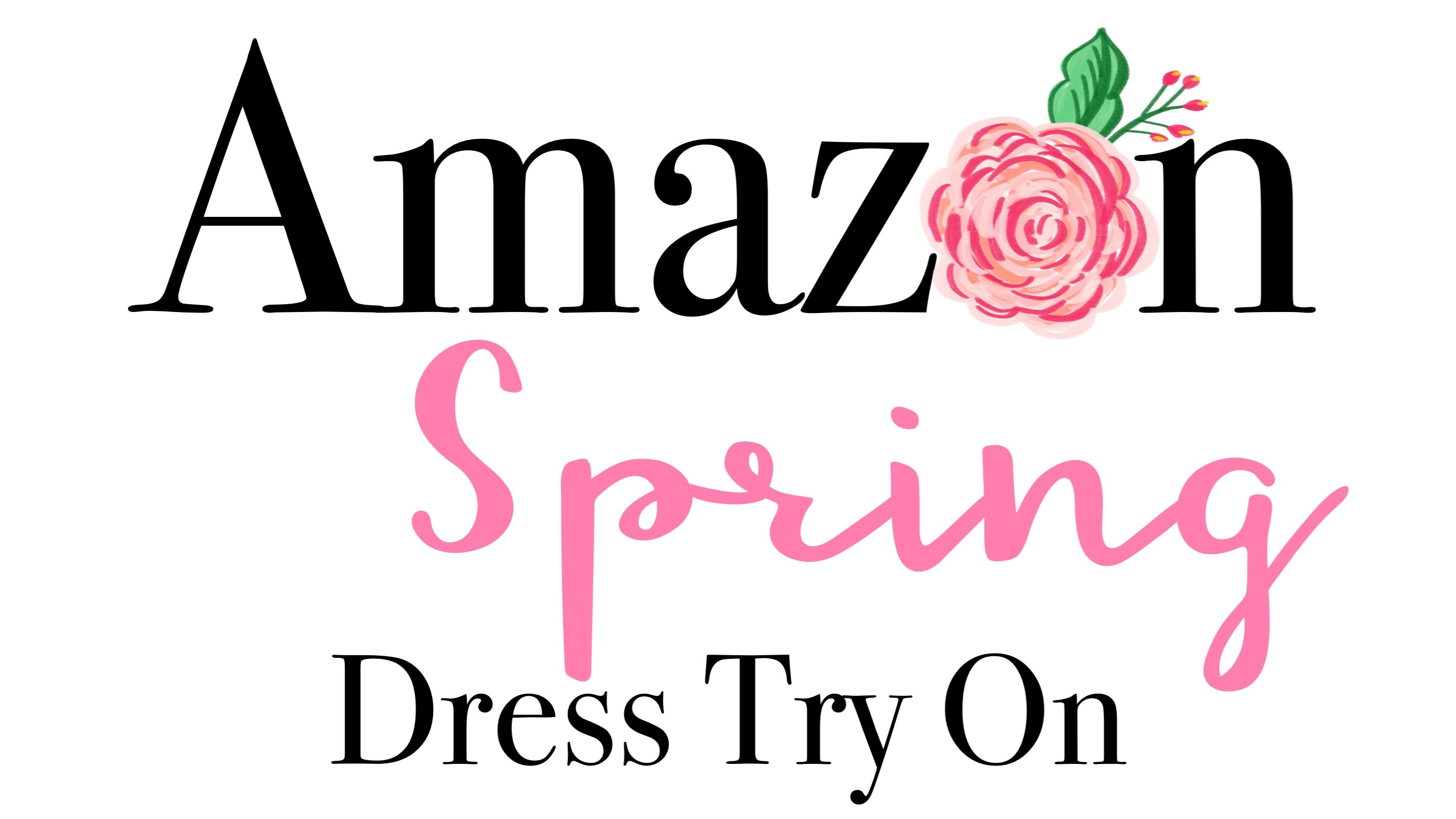Amazon Spring Dress Try On