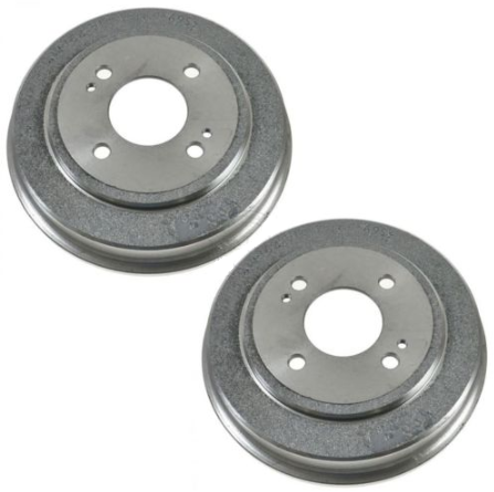 Nakamoto Brake Drum Rear Left LH /& Right RH Pair for Toyota Celica Corolla Prius