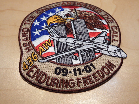436th Airlift Wing Enduring Freedom Patch