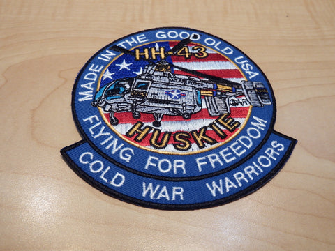 HH-43 Husky Helicopter Patch