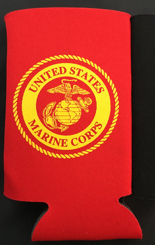 USMC Can Cooler - Koozie